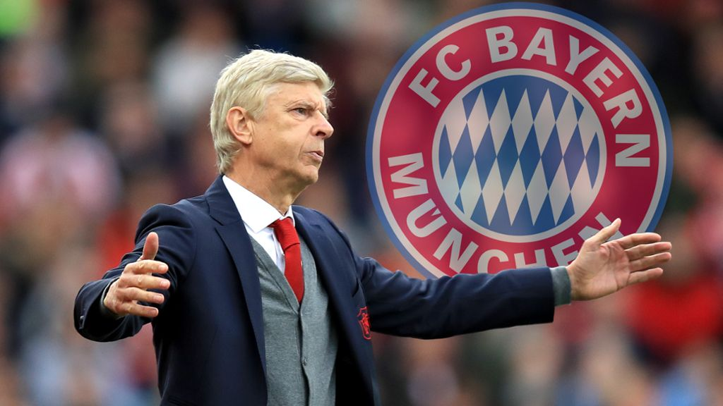 Image result for Arsene Wenger to Bayern Munich
